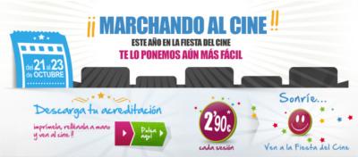 Logo fiesta del cine