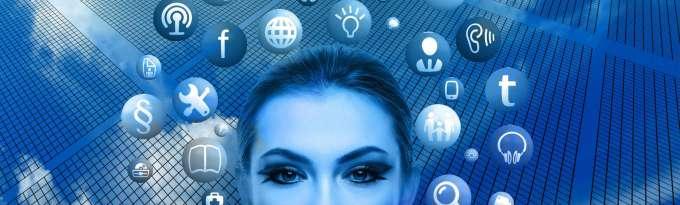 Correo electronico chica azul